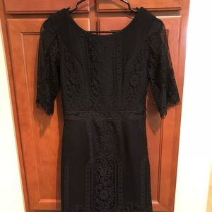 sexy backless lace dress